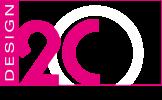 D2C logo voor shirt