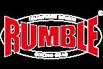 RUMBLE-logo-wit-rood-op-zwart